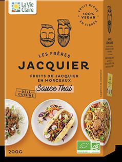 Paquet de fruits du Jacquier sauce thaï