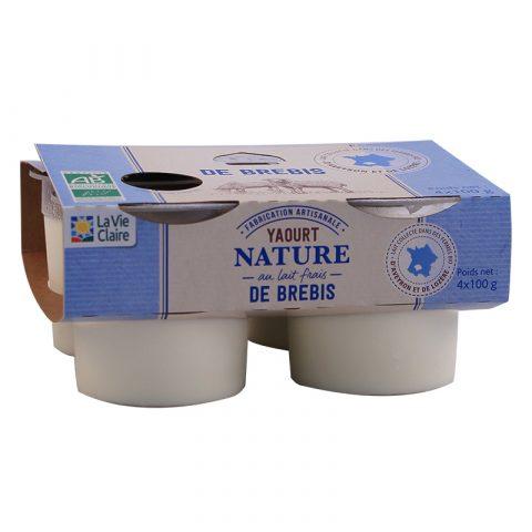 Yaourt nature au lait frais de brebis