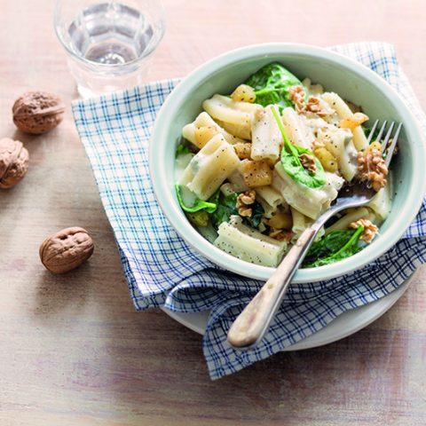 Cinque buchi au gorgonzola, aux noix et aux poires