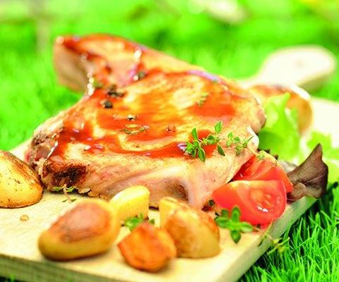 Côtes de porc aigre - douce