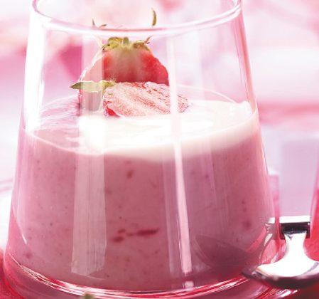 Coupes en rose et blanc à l'eau florale