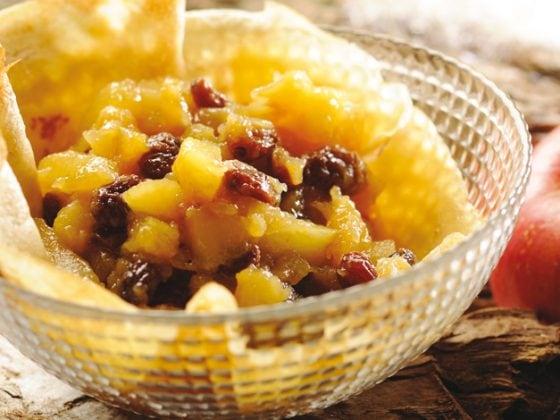 Crêpes au cidre et pommes cannelle