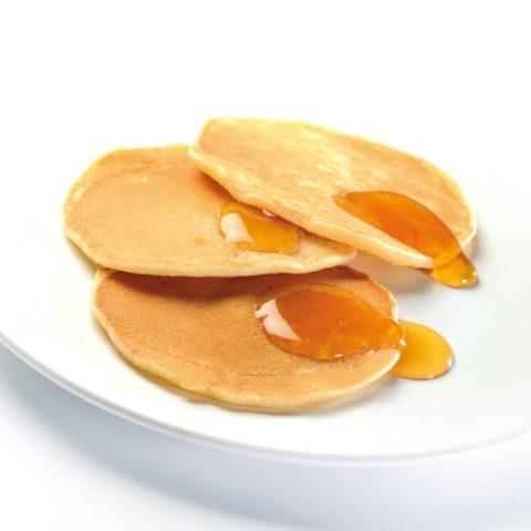Les pancakes ou blinis moelleux sans gluten