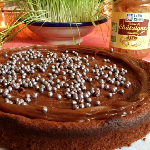 Moelleux au chocolat à la crème de châtaignes