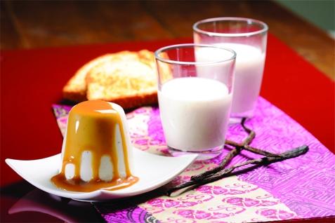 Panna cotta Caramel beurre salé