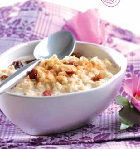 Porridge pour petit déjeuner tonique