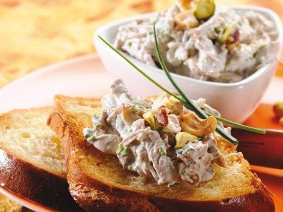 Rillettes de volaille aux fruits secs