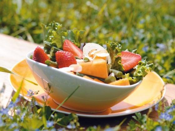 Salade de haricots verts tutti frutti