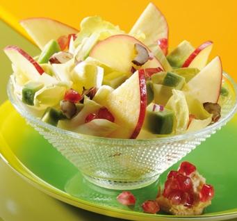 Salade fruitée à la grenade