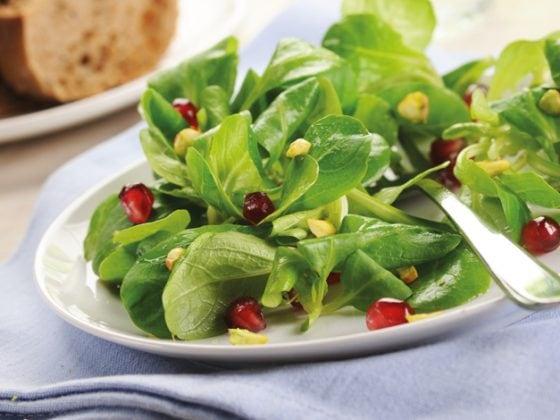 Salade grenade-pistache