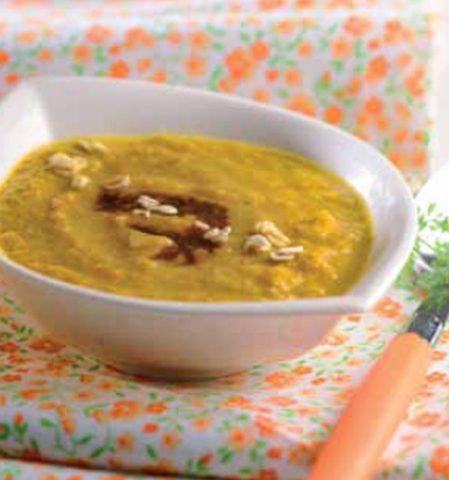 Velouté de légumes au tamari