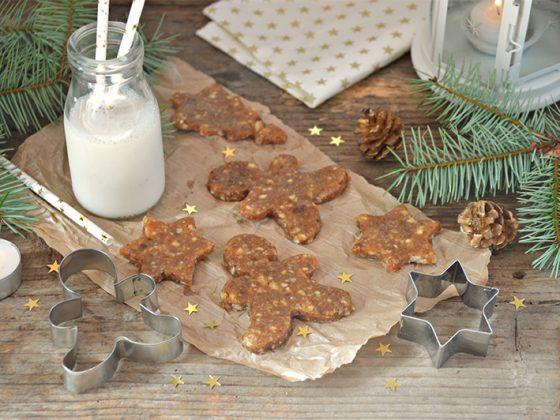 Biscuits crus façon pain d'épices
