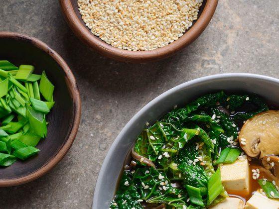 Cuisine du monde : algues shoyu et tamari
