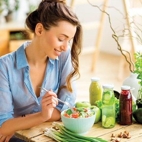 Le régime végétarien : pas de produits animaux