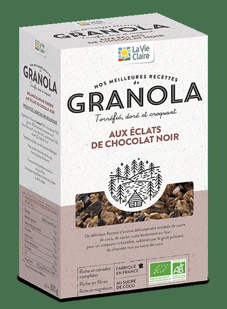 granola chocolat noir bio La Vie Claire