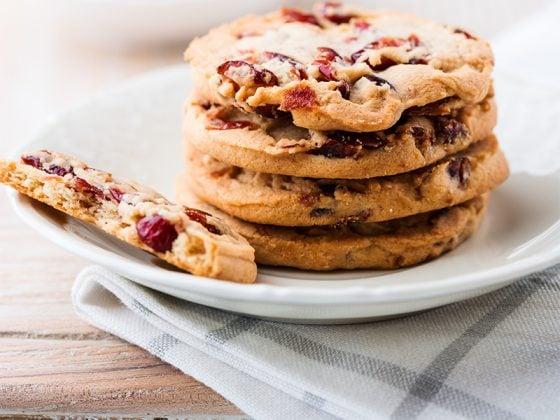 Cookies bio au Granola canneberges et chocolat blanc 1