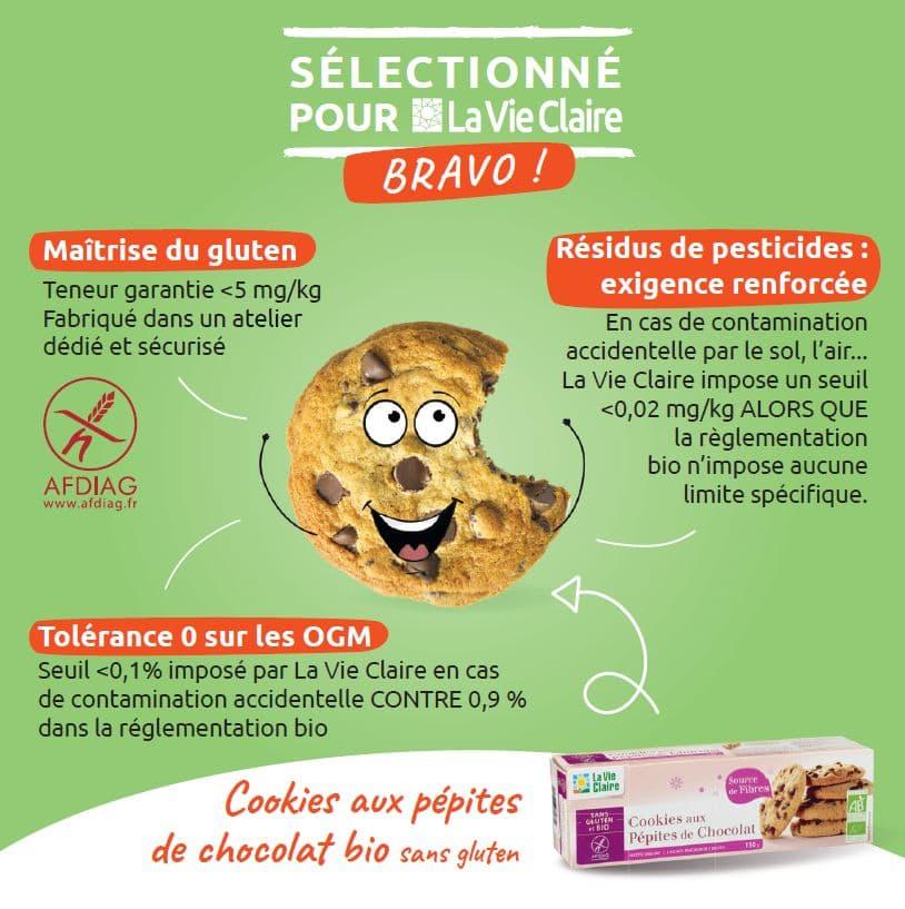 cookie sans gluten bio la vie claire
