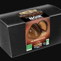 Ballotin d'escargots pralinés enrobés de chocolat noir bio
