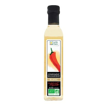 Balsamique blanc au piment d'Espelette bio