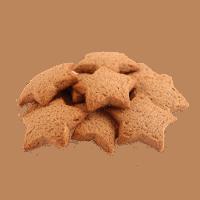 Biscuits étoiles à la cannelle bio