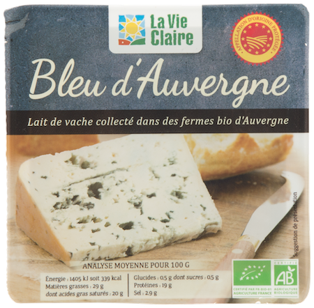 Bleu d'Auvergne bio