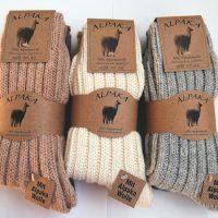 Chaussettes en laine Alpaga