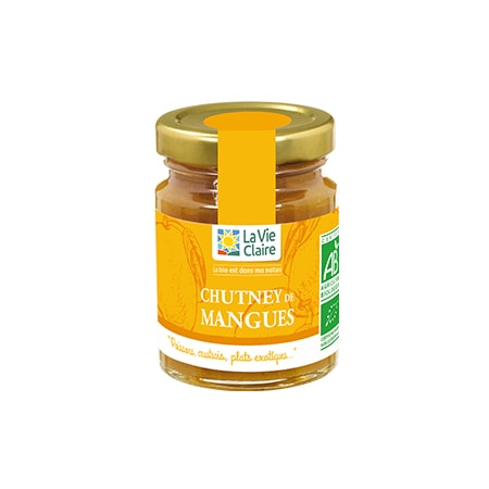 Chutney de mangues bio 1