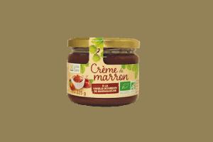 Crème de marron vanillée bio 1