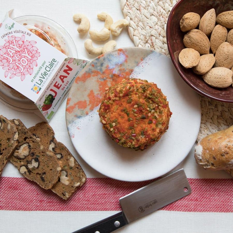 fromage végétal jay&joy La Vie Claire Jean-de-Luz