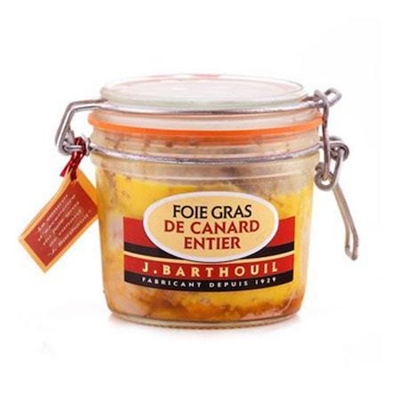 Foie gras de canard entier en bocal