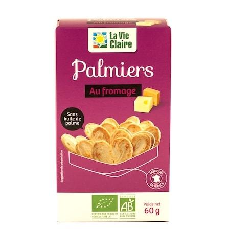 Palmiers au fromage bio