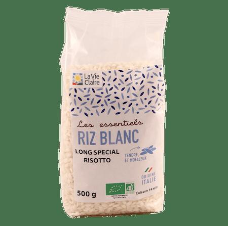 Riz long blanc spécial risotto bio