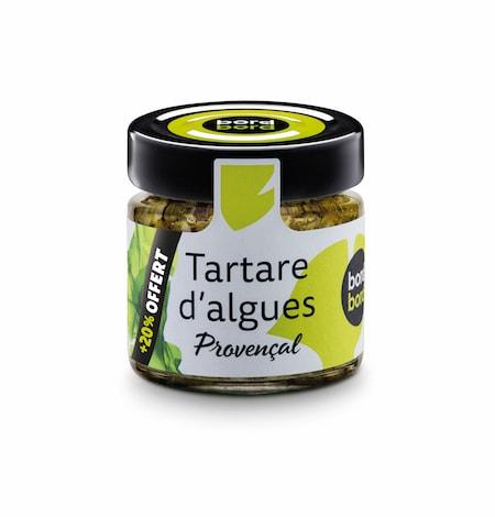 Tartare d'algues à la provençale bio