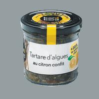 Tartare d'algues au citron confit bio