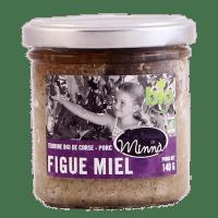 Terrine de porc à la figue et au miel bio