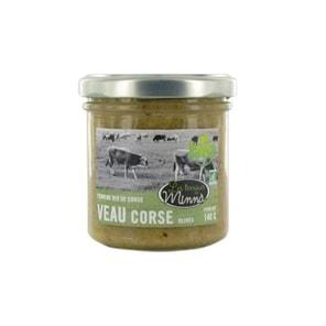 Terrine de veau aux olives bio de Corse