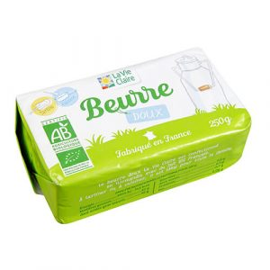 Beurre doux bio