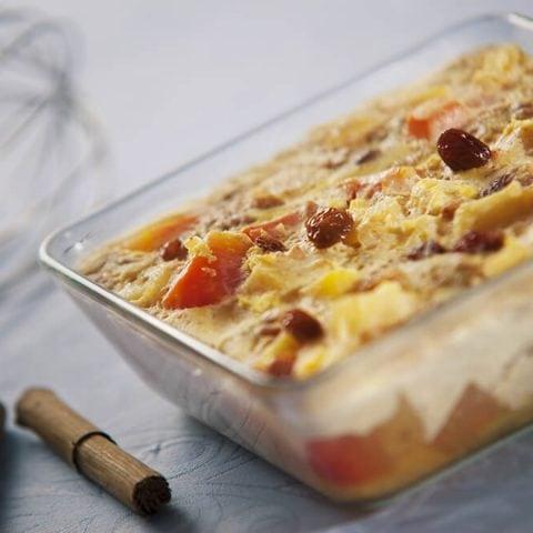 Gratin de patates douces et tofu façon dauphinois