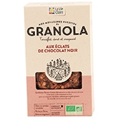 granola bio chocolat
