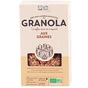 granola bio aux graines