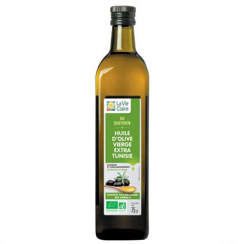 Huile d'olive bio la Vie Claire