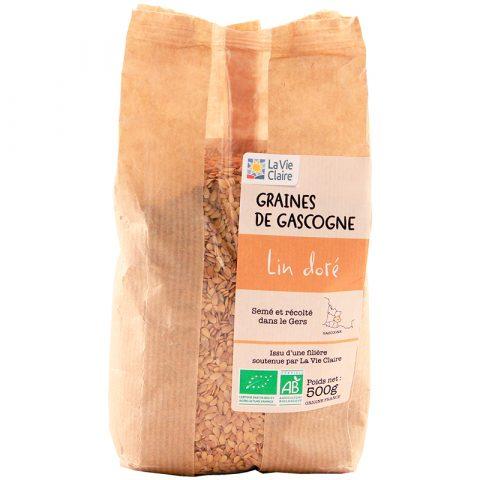 Lin doré de Gascogne bio La Vie Claire