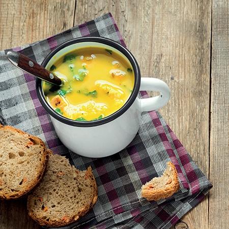 Des soupes cuisinées comme à la maison
