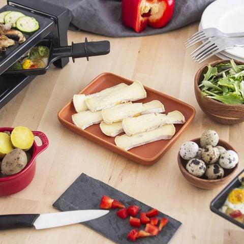 Raclette de reblochon végétarienne