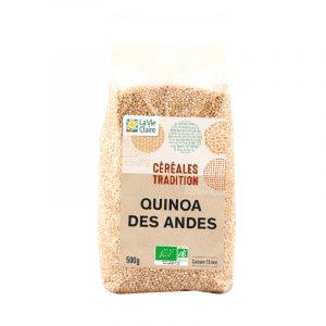 Bouillon de légumes d'hiver au quinoa