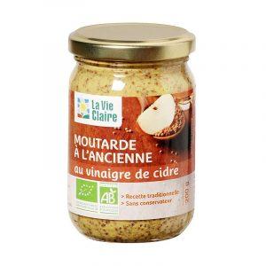 Moutarde bio La Vie Claire