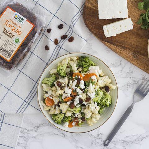 Salade détoxifiante toute en couleur