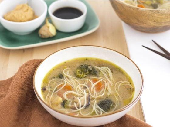 Soupe de poisson anti coup de froid - façon asiatique 1
