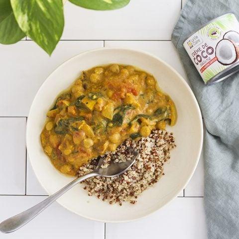 Curry de poisson aux épices