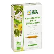 Extrait de plantes silhouette bio